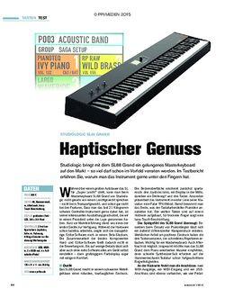 tastenwelt Studiologic SL88 Grand - Haptischer Genuss