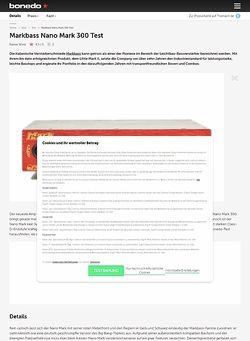Bonedo.de Markbass Nano Mark 300