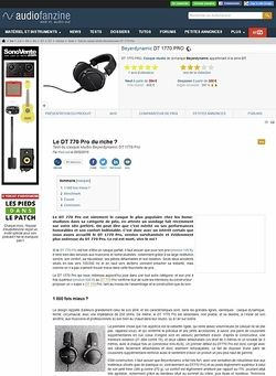 Audiofanzine.com Beyerdynamic DT 1770 PRO