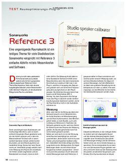 KEYS Sonarworks Reference 3