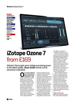 Future Music iZotope Ozone 7