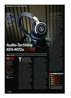 Future Music Audio-Technica ATH-M70x