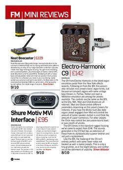 Future Music Electro-Harmonix C9