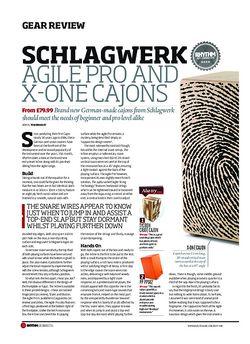 Rhythm Schlagwerk Agile Pro And X One Cajons