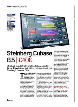 Future Music Steinberg Cubase 8.5