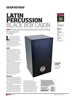 Rhythm Latin Percussion Black Box Cajon