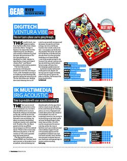 Total Guitar IK Multimedia Irig Acoustic