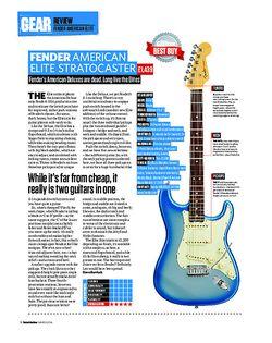 Total Guitar Fender American Elite Stratocaster
