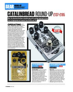 Total Guitar Catalinbread Round-Up