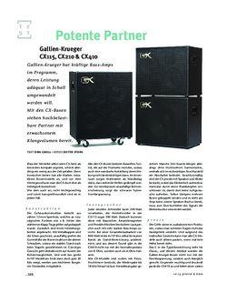 Gitarre & Bass Gallien-Krueger CX115, CX210 & CX410