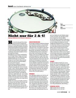 Sticks Meinl Backbeat Tambourine
