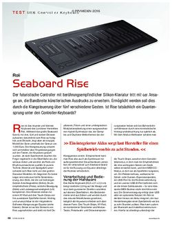 KEYS Roli Seaboard Rise