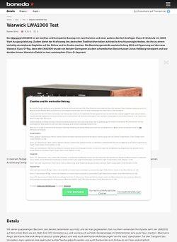 Bonedo.de Warwick LWA1000