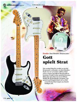 guitar Fender Jimi Hendrix Stratocaster
