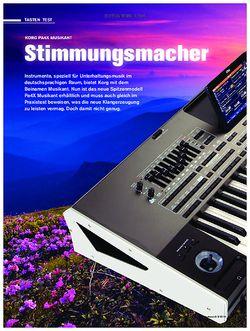 tastenwelt Korg Pa4X Musikant