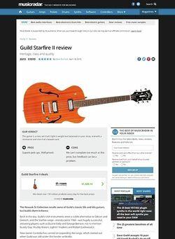 MusicRadar.com Guild Starfire II