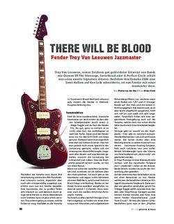 Gitarre & Bass Fender Troy Van Leeuwen Jazzmaster