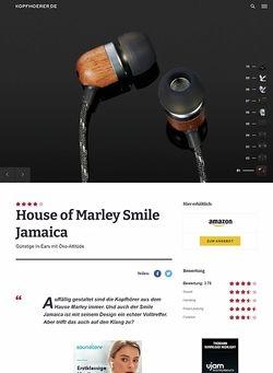 Kopfhoerer.de House of Marley Smile Jamaica Midnight