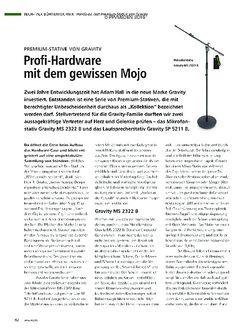PMA Profi-Hardware mit dem gewissen Mojo