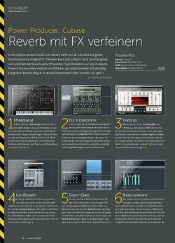 Beat Power Producer: Reverb mit FX verfeinern