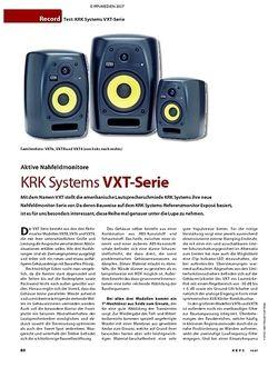 KEYS KRK VXT-Serie