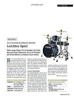 SOUNDCHECK Sonor Player SE Special Edition