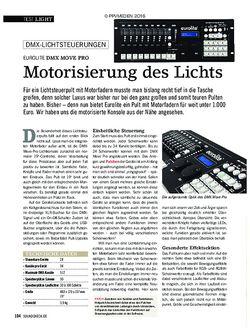 SOUNDCHECK Eurolite DMX Move Pro