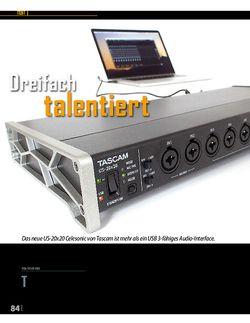 Professional Audio Tascam US 20X20