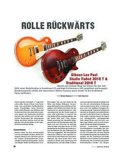 Gitarre & Bass Gibson Les Paul Studio Faded 2016 T & Traditional 2016 T, E-Gitarren