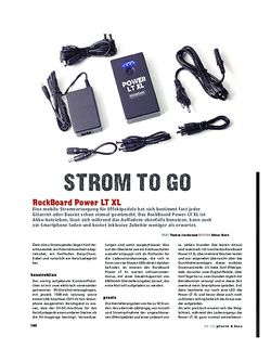 Gitarre & Bass RockBoard Power LT XL, kabellose Stromversorgung