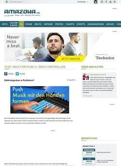Amazona.de Test: Ableton Push 2, DAW-Controller