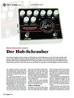 guitar Electro-Harmonix Lester G