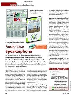KEYS Test: Audio Ease Speakerphone
