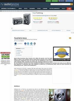Audiofanzine.com Focal Trio6 Be