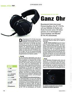 tastenwelt Beyerdynamic DT 1770 Pro - Ganz Ohr