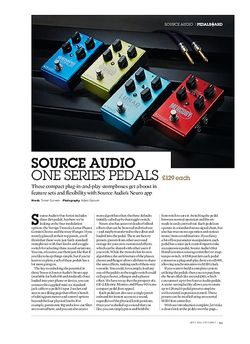 Guitarist Source Audio Lunar Phaser