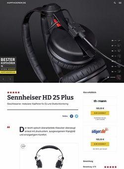 Kopfhoerer.de Sennheiser HD-25 Plus