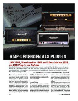 Gitarre & Bass Marshall-Amps als UAD Plug-In von Softube