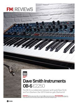 Future Music Dave Smith Instruments OB-6