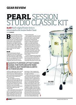 Rhythm Pearl Session Studio Classic Kit