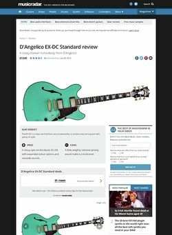 MusicRadar.com D'Angelico EX-DC Standard