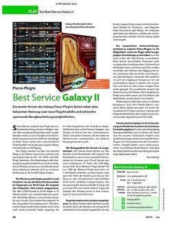 KEYS Test: Best Service Galaxy II