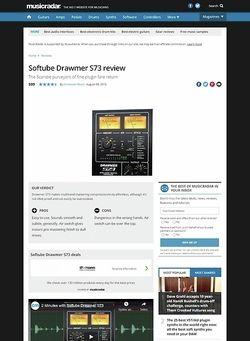 MusicRadar.com Softube Drawmer S73