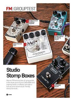 Future Music Studio Stomp Boxes