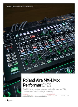 Future Music Roland Aira MX-1 Mix Performer