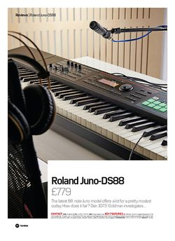 Future Music Roland Juno DS88