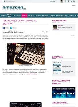 Amazona.de Test: Novation Circuit Update 1.2, Groovebox