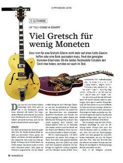 SOUNDCHECK Gretsch G2622 & G2420T