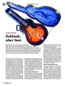 guitar Guild T-50 Slim