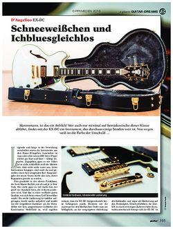 guitar DAngelico EX-DC
